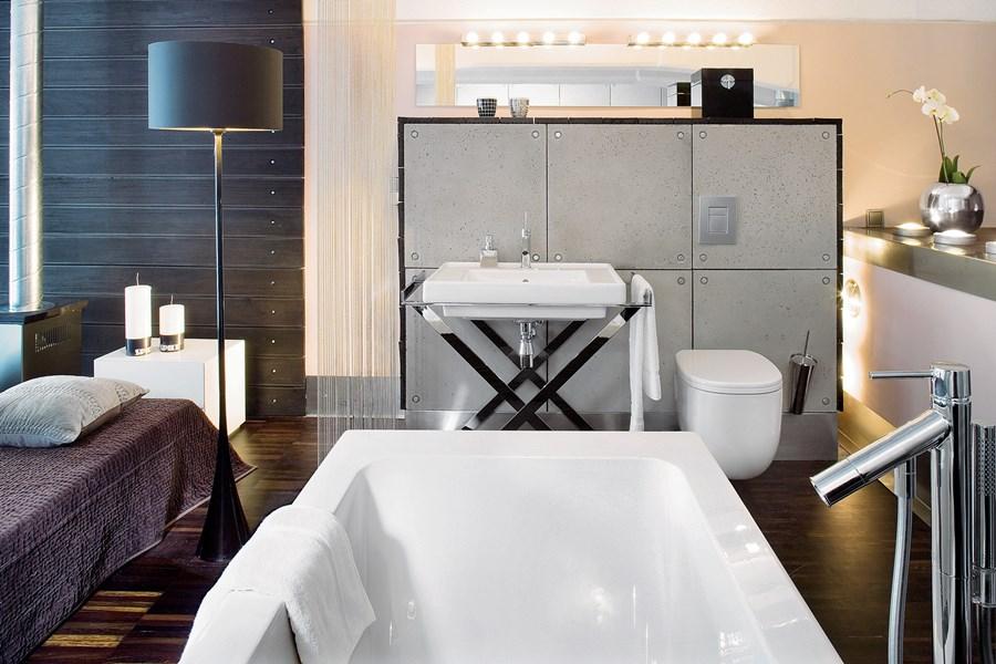 Piękna łazienka w nowoczesnym stylu