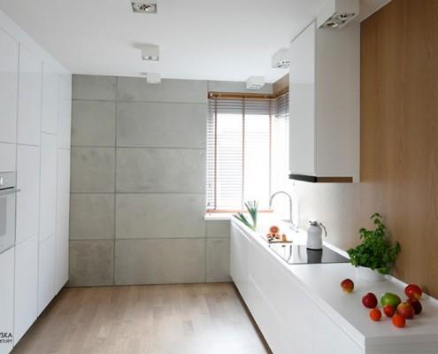 Beton dekoracyjny w kuchni Agnieszka Ludwinowska