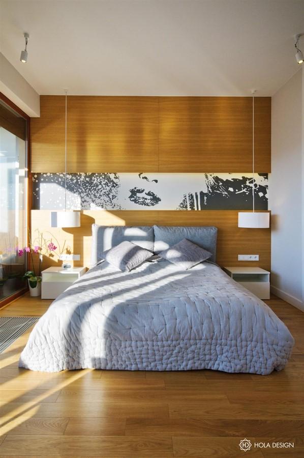 Drewniane Panele ścienne W Sypialni Inspiracja Homesquare