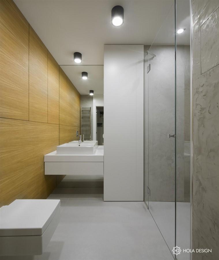 Drewno I Beton W łazience Inspiracja Homesquare