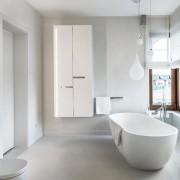 Biała łazienka w nowoczesnym wydaniu