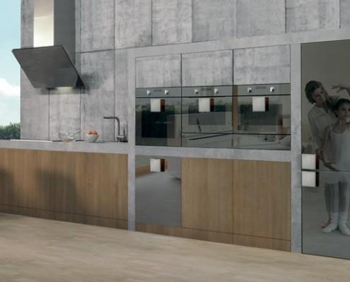Industrialna kuchnia z nowoczesnym AGD Starck Gorenje