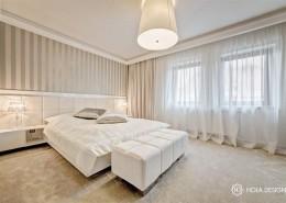 Jasna sypialnia w kolorze ecru Hola Design