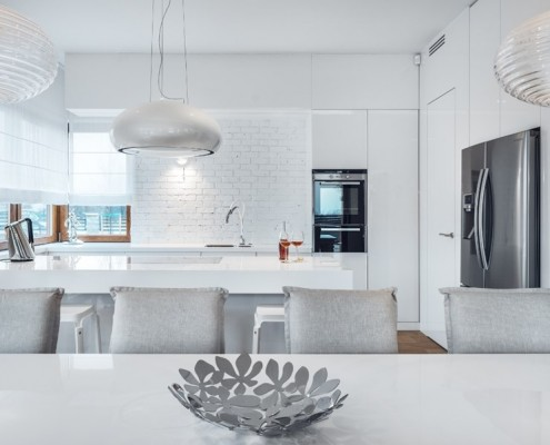 Kuchnia w nieskazitelnej bieli Formativ