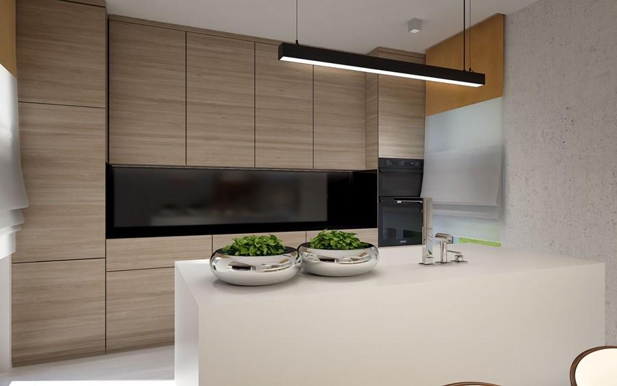 Kuchnia z wyspą i jadalnią  Architektura, wnętrza, technologia, design  Hom   -> Kuchnia Z Wyspą Polączona Z Jadalnią