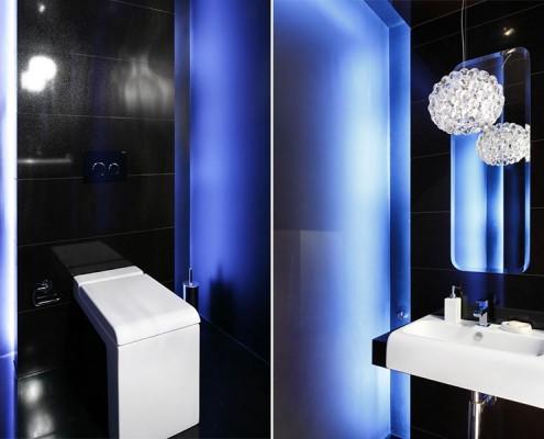 Nietuzinkowa toaleta w czerni Agnieszka Ludwinowska
