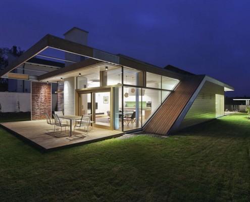 Minimalistyczny dom na Węgrzech