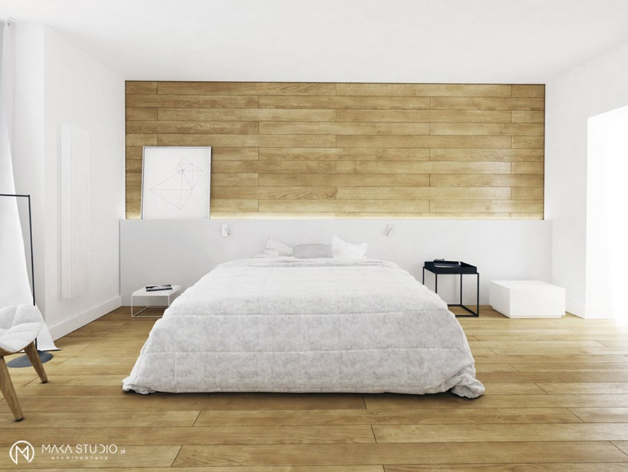 Piękna sypialnia w drewnie porady i podpowiedzi
