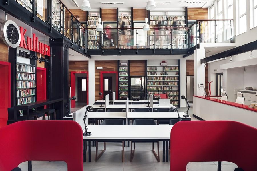 Biblioteka w Rumi - projekt Jana Sikory