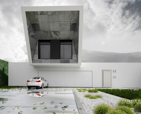 SkyFall House JABRAARCHITECTS