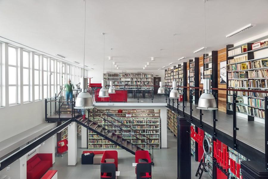 Biblioteka Rumia - projekt dworca