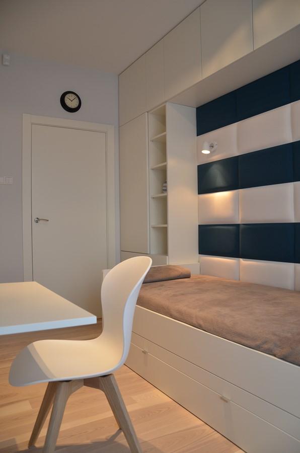 w�ski pok243j m�odzieżowy architektura wnętrza