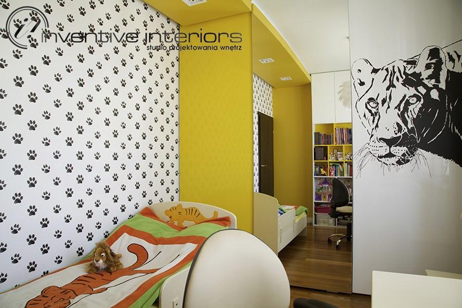 Zwierzęce akcenty w pokoju dziecięcym - pokoje dla dzieci
