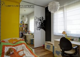 Zwierzęce akcenty w pokoju dziecięcym Inventive Interiors