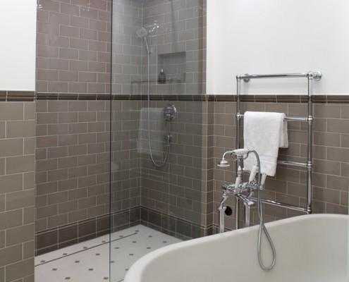Aranżacja łazienki w klasycznym stylu RS Studio Projektowe