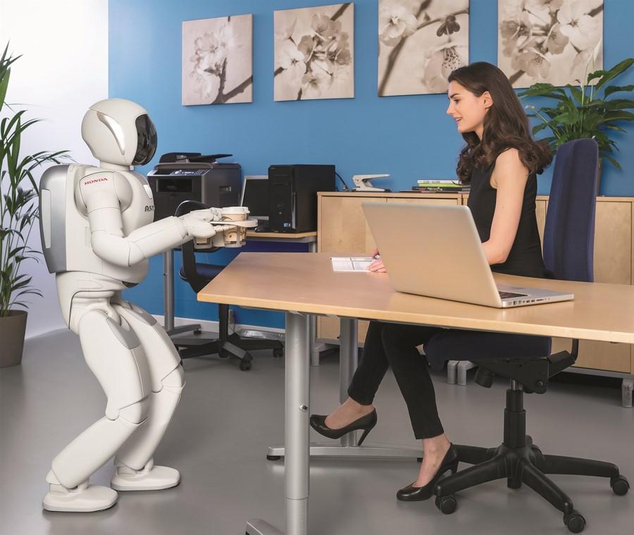 Asimo Honda inteligentny robot