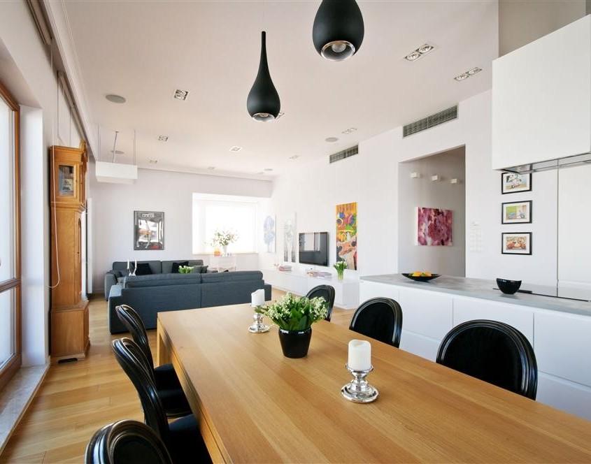 Jadalnia z salonem i kuchnią podpowiedzi i porady
