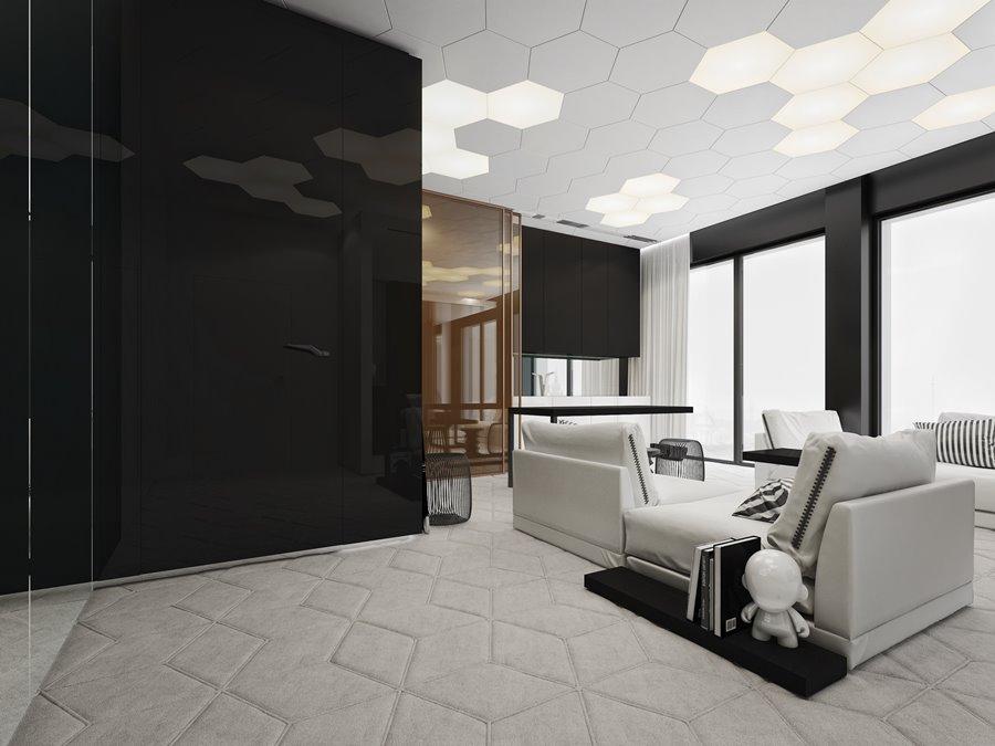Jak oświetlić salon styl nowoczesny we wnętrzu