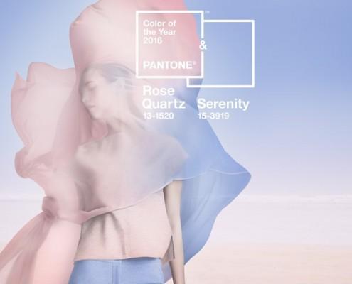 Kolor roku 2016 - Rose Quartz i Serenity