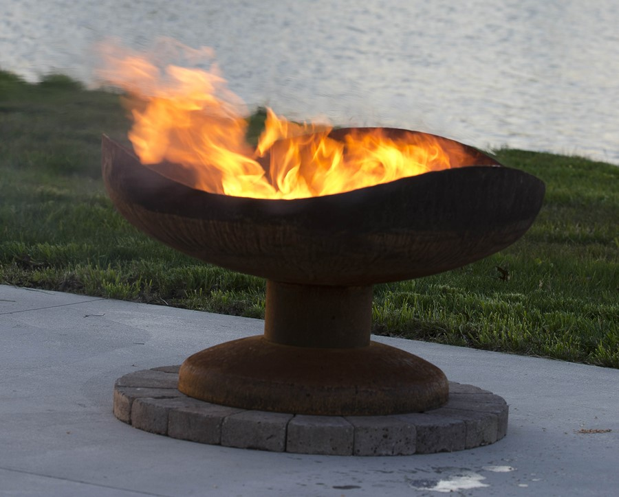 Nowoczesne palenisko ogrodowe The Fire Pit Gallery