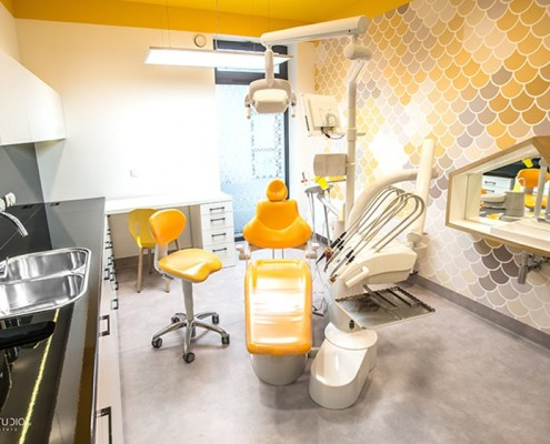 Nowoczesny gabinet dentystyczny Maka studio