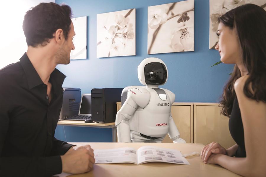 Robot Asimo nowoczesny robot