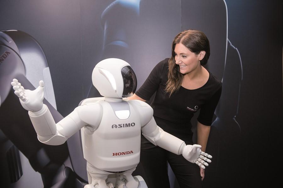 Robot humanoidalny Asimo firmy Honda