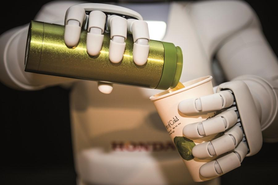 Nowy robot humanoidalny marki Honda