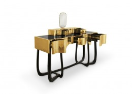 Toaletka z lustrem luksusowej marki Maison Valentina