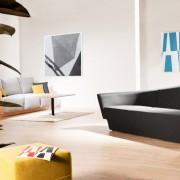 Sofa w salonie według Tomka Rygalika
