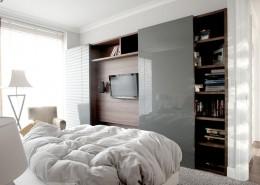 TV w sypialni Casamila