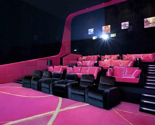 Wystrój wnętrz Orange Cinema