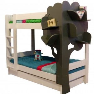 Piętrowe łóżko dziecięce Abress - Tress Mathy by Bols