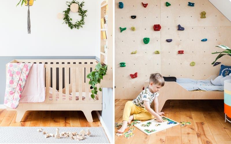 Łóżko rosnące wraz z dzieckiem