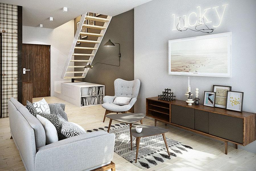 Ładne mieszkanie kawalerka pomysły
