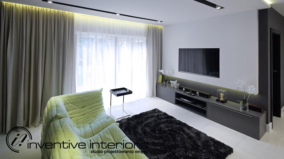 Ładne mieszkanie styl nowoczesny minimalistyczny