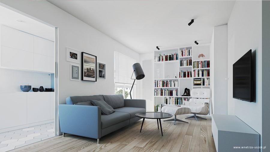 Ładne mieszkanie z małym metrażem podowiedzi