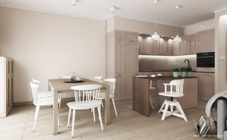 aranżacja salonu z kuchni� � wygodnie funkcjonalnie i
