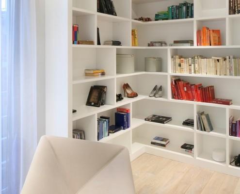 Domowa biblioteka w bieli Living Box