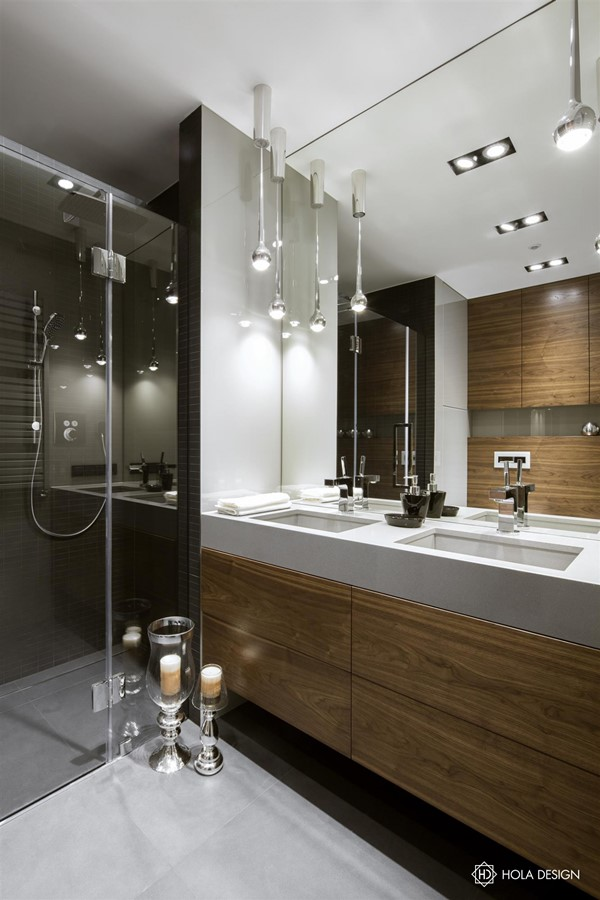 Drewniane Meble łazienkowe W Nowoczesnej Formie Inspiracja