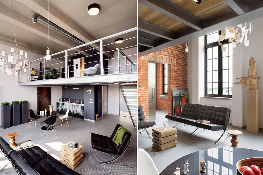 industrialne wnętrza � przestrzenie idealne dla