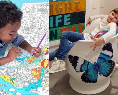 Kreatywny pokój zabaw dla dziecka
