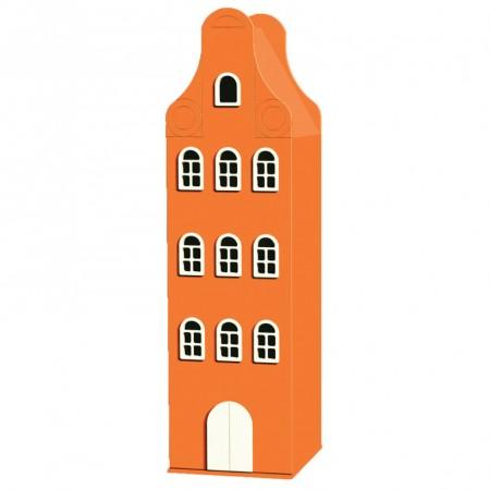 Pomarańczowa szafa dziecięca Neckgable Orange 180 50 50 cm
