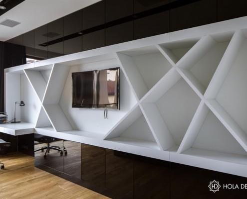 Nowoczesne meble do pokoju mołodzieżowego Hola Design