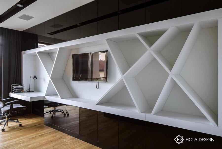 nowoczesne meble do pokoju m�odzieżowego architektura