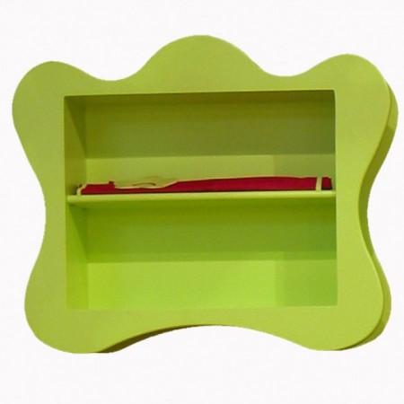 Zielona półka dziecięca VOLUTE Mathy by Bols