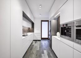 Minimalistyczna kuchnia dopracowana w każdym detalu A8 Architektura