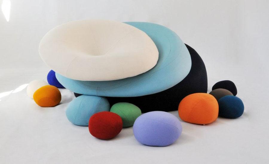 Poduszki i meble dzieciece Colorstones Smarin
