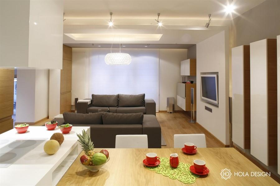 Podwieszany sufit z oświetleniem – pomysły na nastrojowe   -> Kuchnia Z Sufitem Podwieszanym