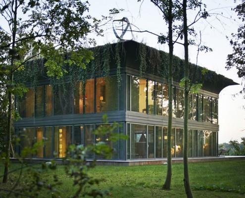 dom plus energetyczny, projekt: Starck + Riko